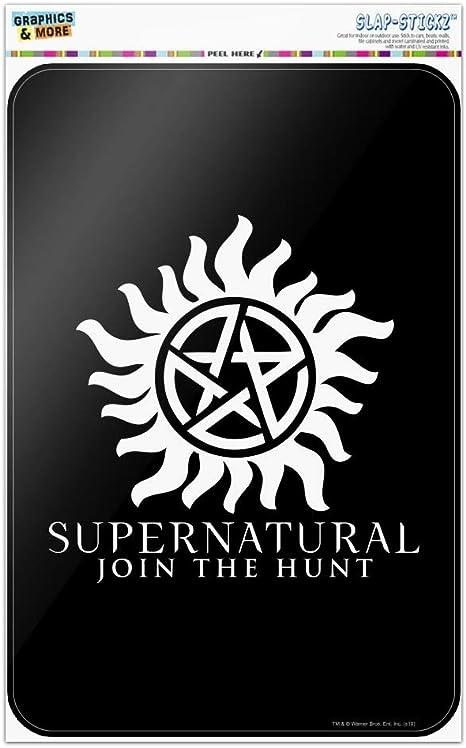 Supernatural Anti-Possession Metallic Phone Grip White Base