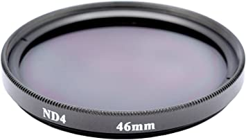 Gadget Career 46mm Neutral Density ND2 Filter for Panasonic Lumix G 25mm F1.7 ASPH