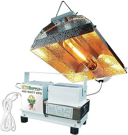 Amazon Com Htg Supply 400 Watt High Pressure Sodium Hps Complete Grow Light Bulb Included Garden Outdoor