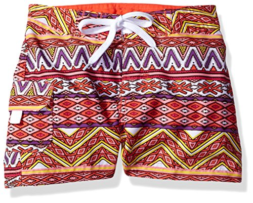 ls' Carrie Boardshort, Multi, Large (6) ()