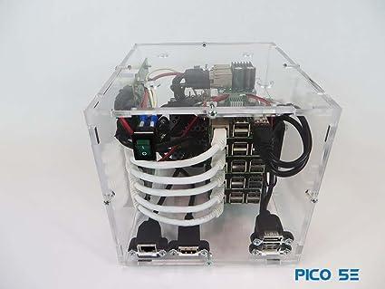 Amazon com: Pico 5E Raspberry PI - Assembled Cube - 80GB
