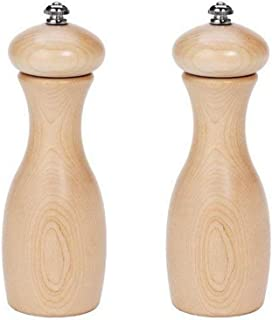 product image for Fletchers' Mill Marsala Collection Salt & Pepper Mill, Maple - 7 Inch, Adjustable Coarseness Fine to Coarse, MADE IN U.S.A.