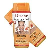 DISAAR Whitening Cream Face Body Legs Knees Private Swiss Formula Essence 250ml (CARROT EXTRACT)