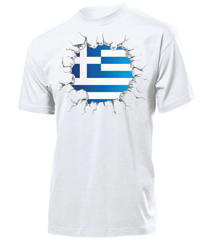 Griechenland Fussball Fanshirt Fan Shirt Tshirt Fanartikel Artikel M/änner Herren T-Shirts
