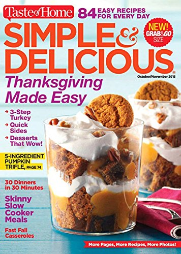 Simple & Delicious,Taste Of Home - Magazine Subscription from Magazineline