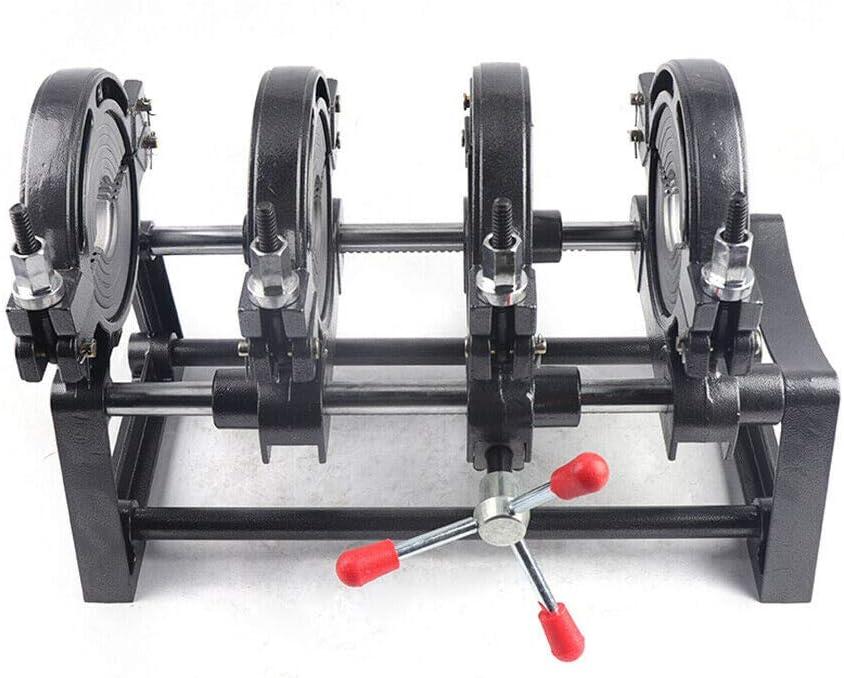 Pipe Welding Machine 2.48-6.30//63-160mm Electric Tube Butt Fusion Equipment for PE PP PB PVDF HDPE PVC