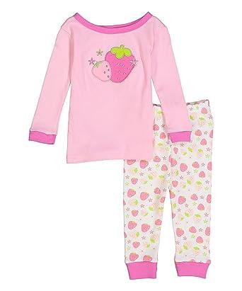Amazon Com Sweet Soft Baby Girls Tight Fitting Pajamas Long