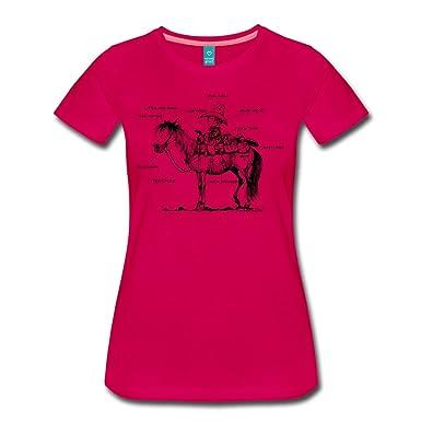 6f74f7f673058a Spreadshirt Thelwell Westernreiten Lustiges Schaubild Frauen Premium T-Shirt:  Amazon.de: Bekleidung