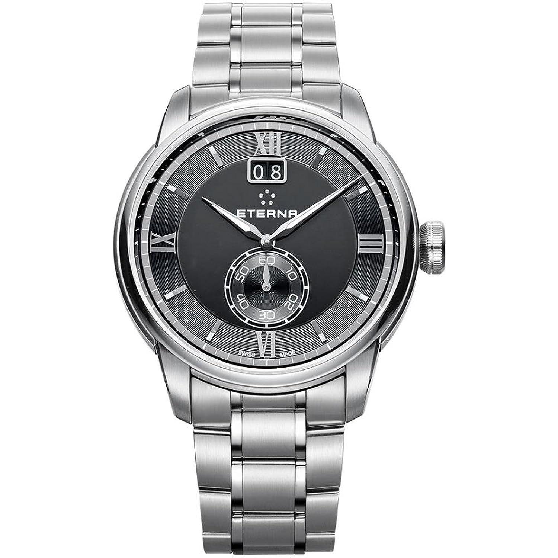 Eterna Adventic Herren-Armbanduhr 41mm Armband Edelstahl + GehÄuse Saphirglas Batterie 2971-41-46-1704