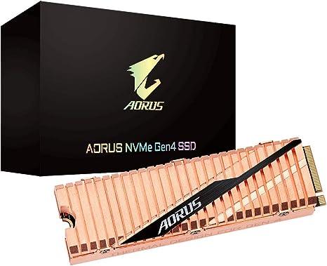 GIGABYTE AORUS NVME Gen 4 SSD 500GB: Amazon.es: Informática