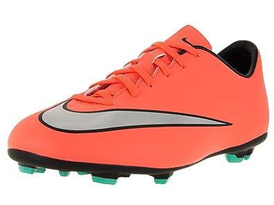 e7b8eeba81f Nike Girls  Jr Mercurial Victory V FG Football Boots  Amazon.co.uk ...