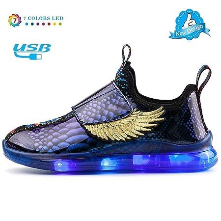 Zapatos De Luces,Tenis Luminosos LED Zapatos Ligero
