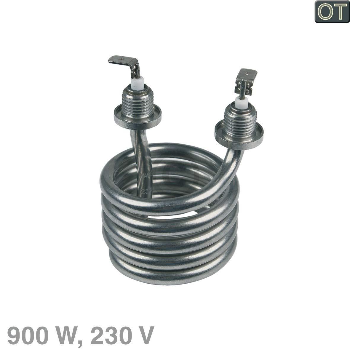 Elemento calefactor espiral 900 W 230 V para Philips Saeco Poemia ...