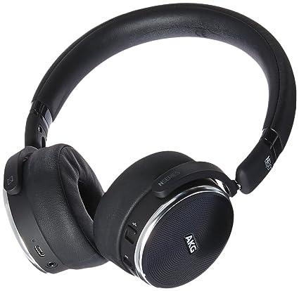 fd35376289e Amazon.com: AKG Wireless Noise Cancellation On-Ear Headphones (N60NCBT):  Electronics