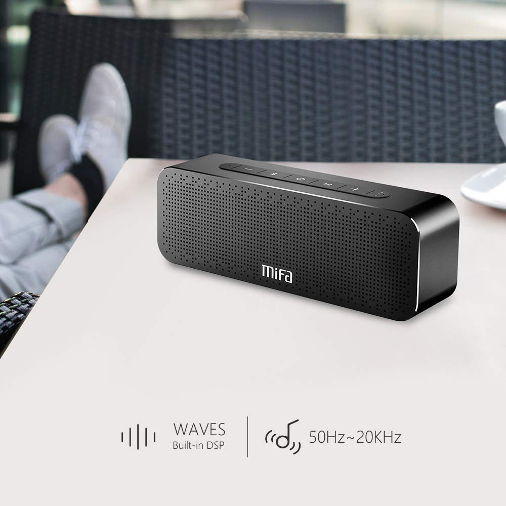 Portable Bluetooth Speakers Loud 24-Hour Playtime, MIFA True