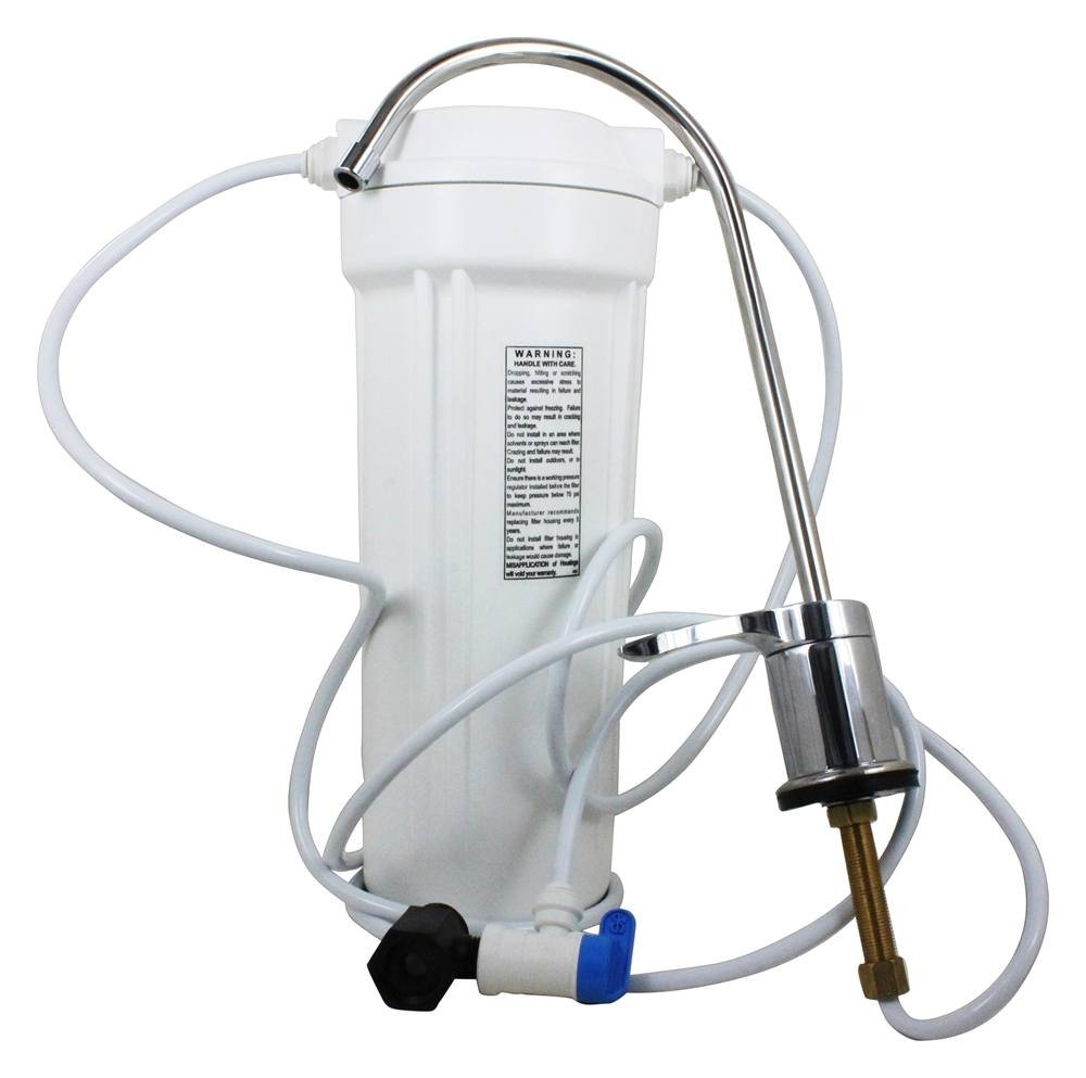 New Wave Enviro NEW-WAVE-ENVIRO-30008 10 Stage Unit Undersink-Mounted Water Filter by New Wave Enviro