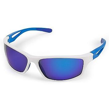 CHEREEKI Gafas de Sol Deportivas, Gafas de Sol Deportivas Polarizadas con Proteccion UV400 & Marco