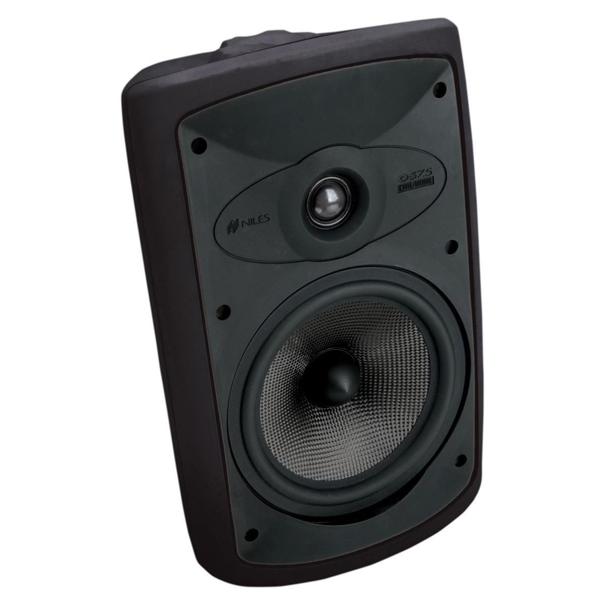 Niles OS7.5 Black (Pr) 7 Inch 2-Way High Performance Indoor Outdoor Speakers (FG00997)