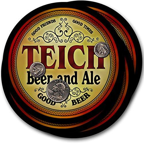 Teichビール& Ale – 4パックドリンクコースター   B003QX7FQK