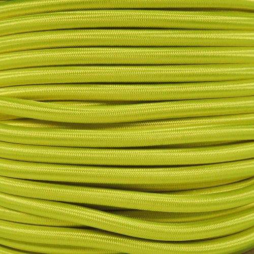 West Coast Paracord Marine Grade Shock Cord 1/4-inch - Lengths up to 1000 feet - Several Colors - Made in USA