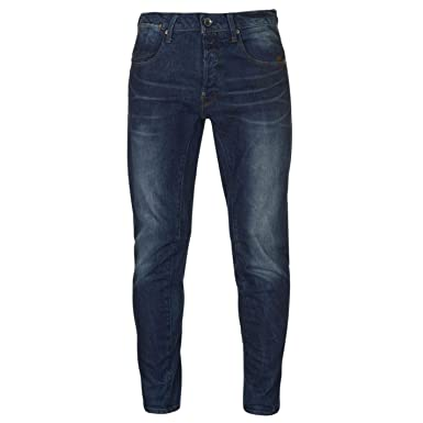 dcf82b6f9dd Official Brand Jeans Denim G Star A Crotch 3D Tapered Mens Trouser Pants  Medium Aged 30 L34 at Amazon Men s Clothing store