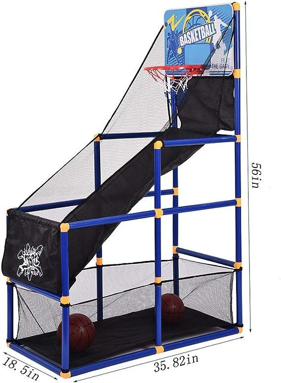 Amazon.com: Airpow - Juego de baloncesto para niños, sistema ...
