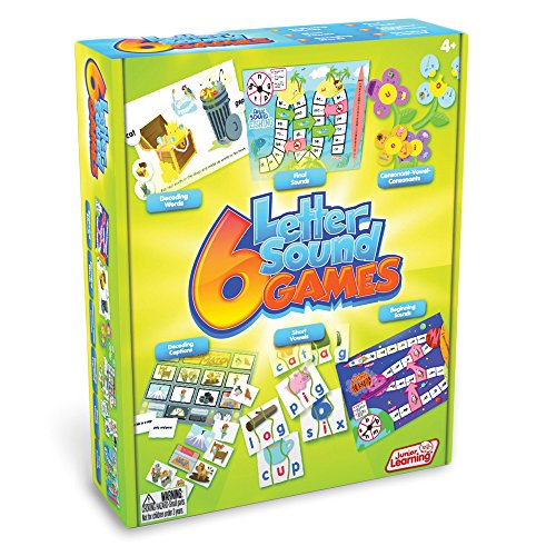 Different Sounds (Junior Learning Different Letter Sound Games (Set of 6))