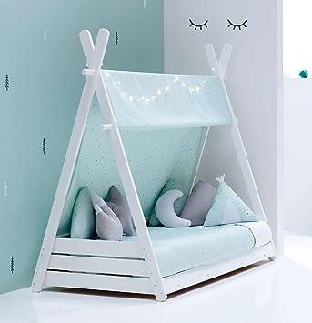 ALONDRA - Cama Montessori infantil para niños 70x140 completa ...