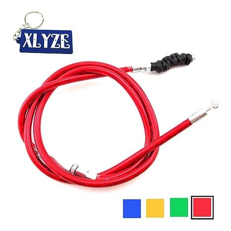 XLYZE Cable de embrague rojo para 50cc 70cc 90cc 110cc 125cc 140cc 150cc 160cc CRF KLX
