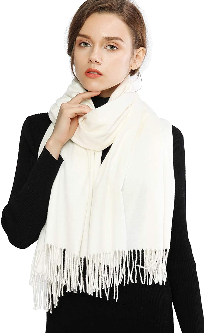RIIQIICHY Donna Sciarpa Scialle Pashmina Invernale Elegante Lungo Morbida Calda Stole Avvolgere