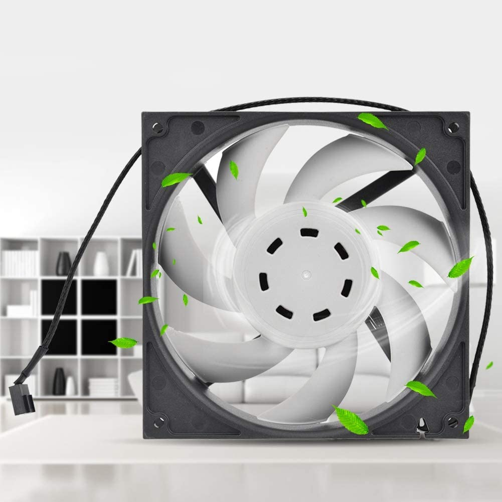 Bearing Fan Yoidesu Computer Case Fan DC 12V Cooling Fan for Computer Case 4Pin PWM 500-150RPM