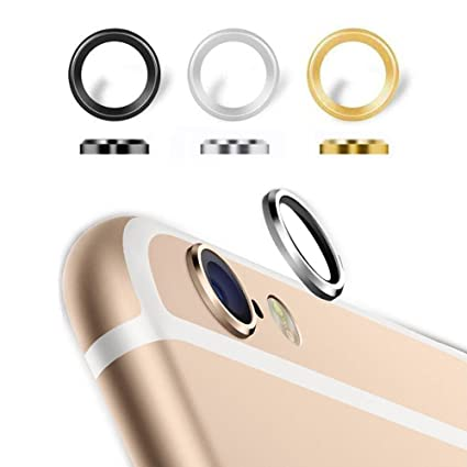 sale retailer a699b 8a459 Camera Protection Metal Bumper Ring Protector For Apple iPhone 6 Plus & 6S  Plus ( 1 Set = 3 Rings )
