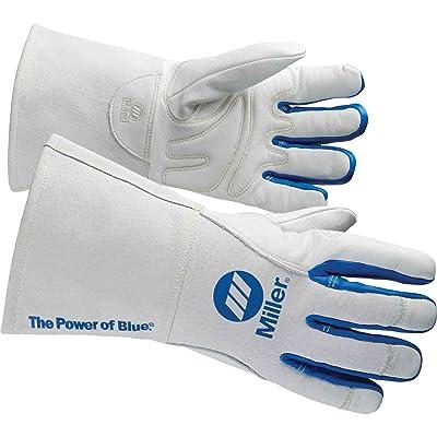 Miller 263333 Lined MIG Welding Glove, Large [5Bkhe1008968]