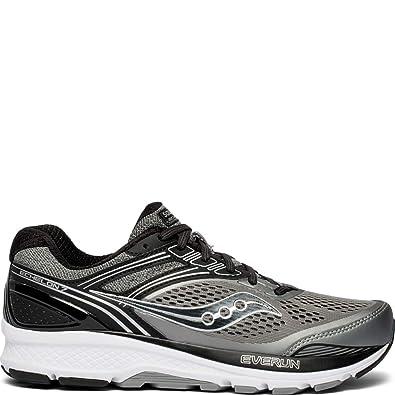 sports shoes 25ee1 cb3ee Saucony Men s Echelon 7 Running Shoe Grey Black 7 ...