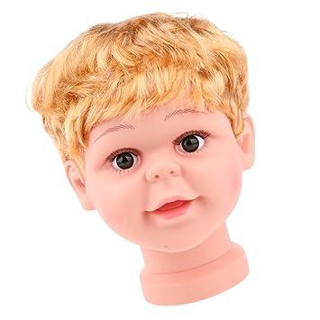 Kinder kopf Schaufensterpuppe Mannequin Kopfmodell Baby Kind Mannequinkopf
