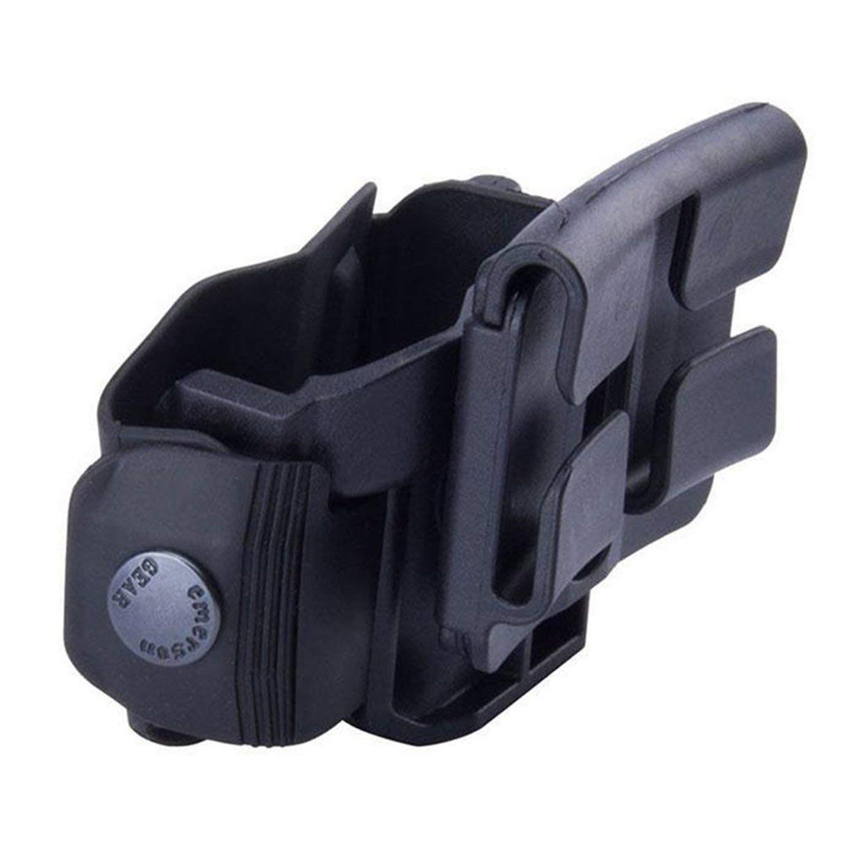 banbie8409 Tactical 360 Rotation Clip Ceinture MOLLE Holster Rotation Chasse pour G17