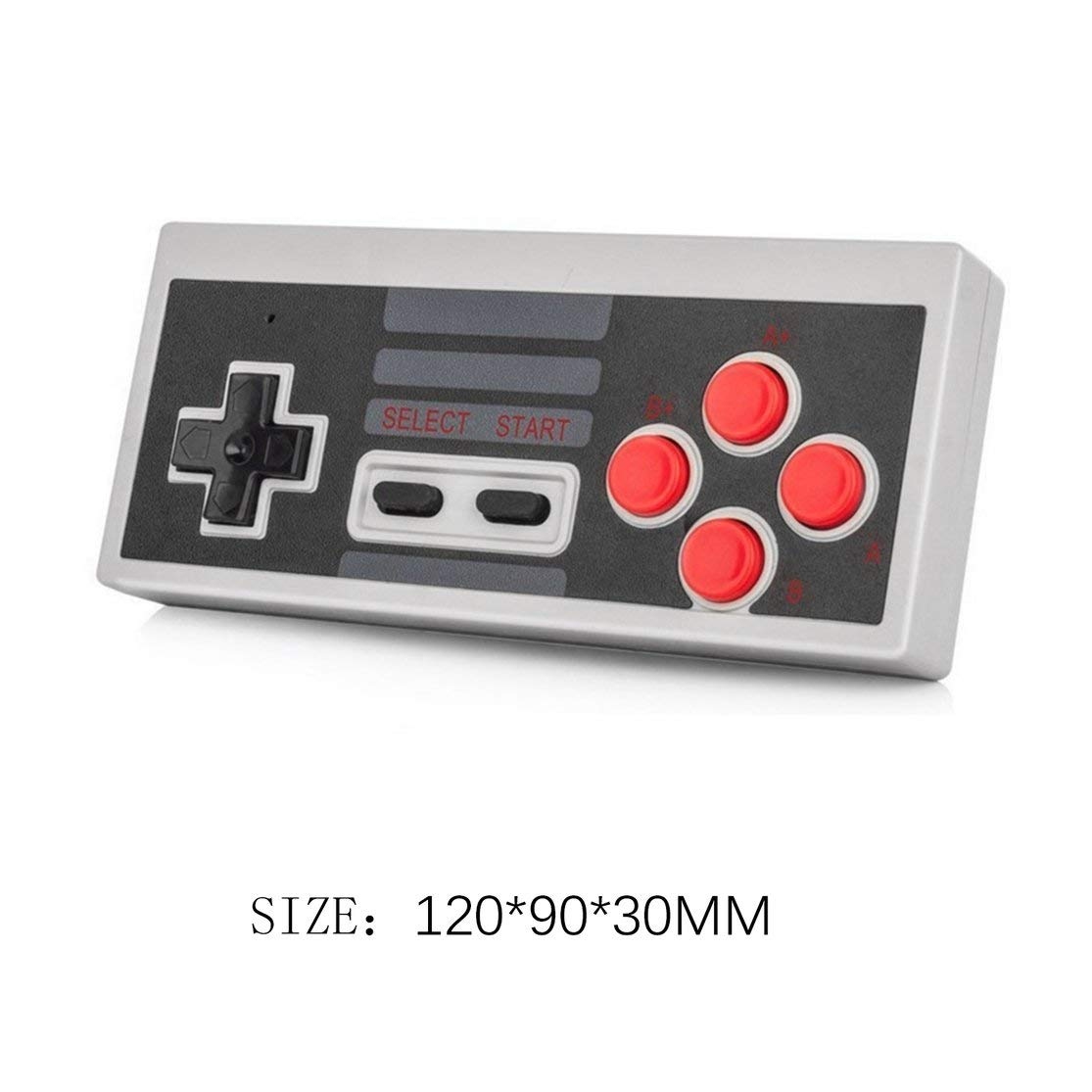 LouiseEvel215 2.4G Wireless Controller Mini Gamepad f/ür NES Classic Edition Controller mit Turbo Function Game Joystick