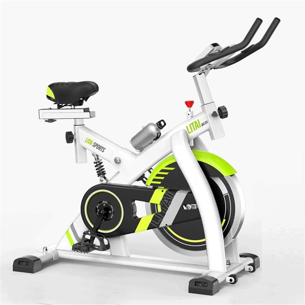 Bicicleta de ejercicio Bicicleta de spinning ultra silencioso Inicio control magnético de la bicicleta estática equipo de la aptitud que adelgaza pie bicicleta estática bicicleta de gimnasio y entrena: Amazon.es: Hogar