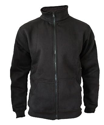 für die ganze Familie New York beste website Sweaterjacke Pullover Herren Zipper Jacke Original Rock-IT Farbe schwarz  Dark Heather Grau Navy