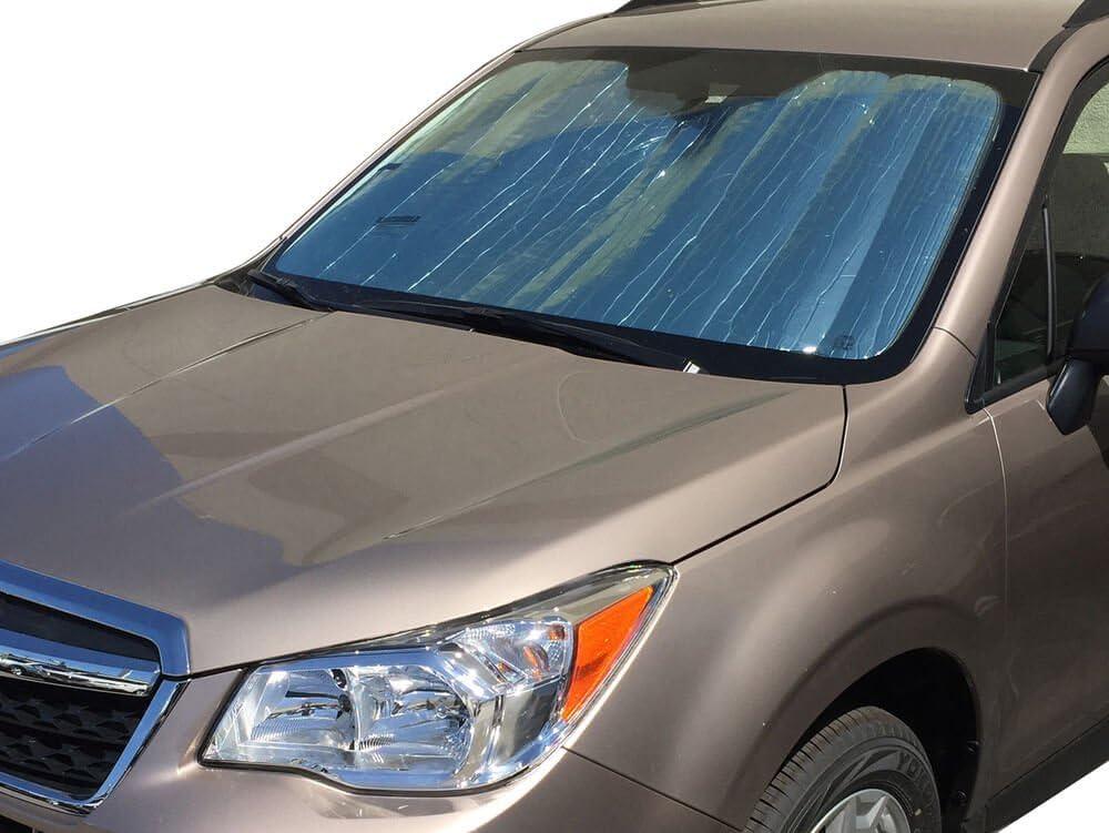 2016 2017 Custom-Fit for Subaru Forester SUV w//o Sensor 2014 HeatShield The Original Auto Sunshade Gold Series 2018 2015