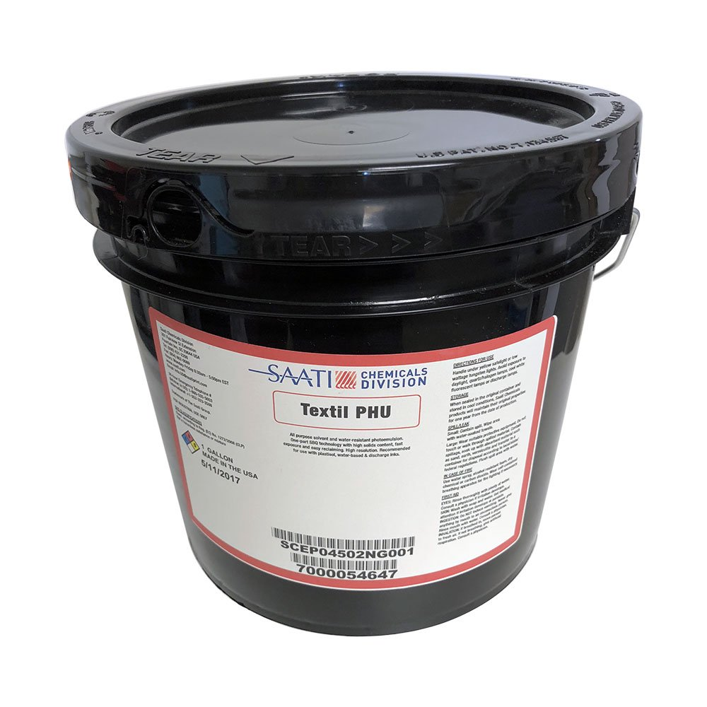 SAATI Textil PHU (Red) Photopolymer Emulsion - Quart