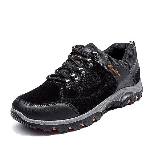 7ad3657f9360ce Hiking Shoes Men Waterproof Walking Shoes Non Slip Trekking Outdoor ...
