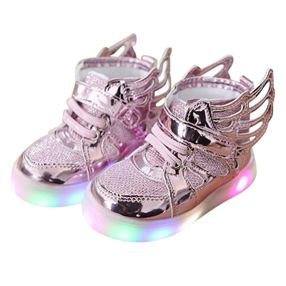 competitive price 6279c f3b2f Bambini bambino scarpe da tennis Juleya Ragazzi Ragazze Causal