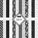 Scrapbook Customs Themed Paper Scrapbook Kit, black & White