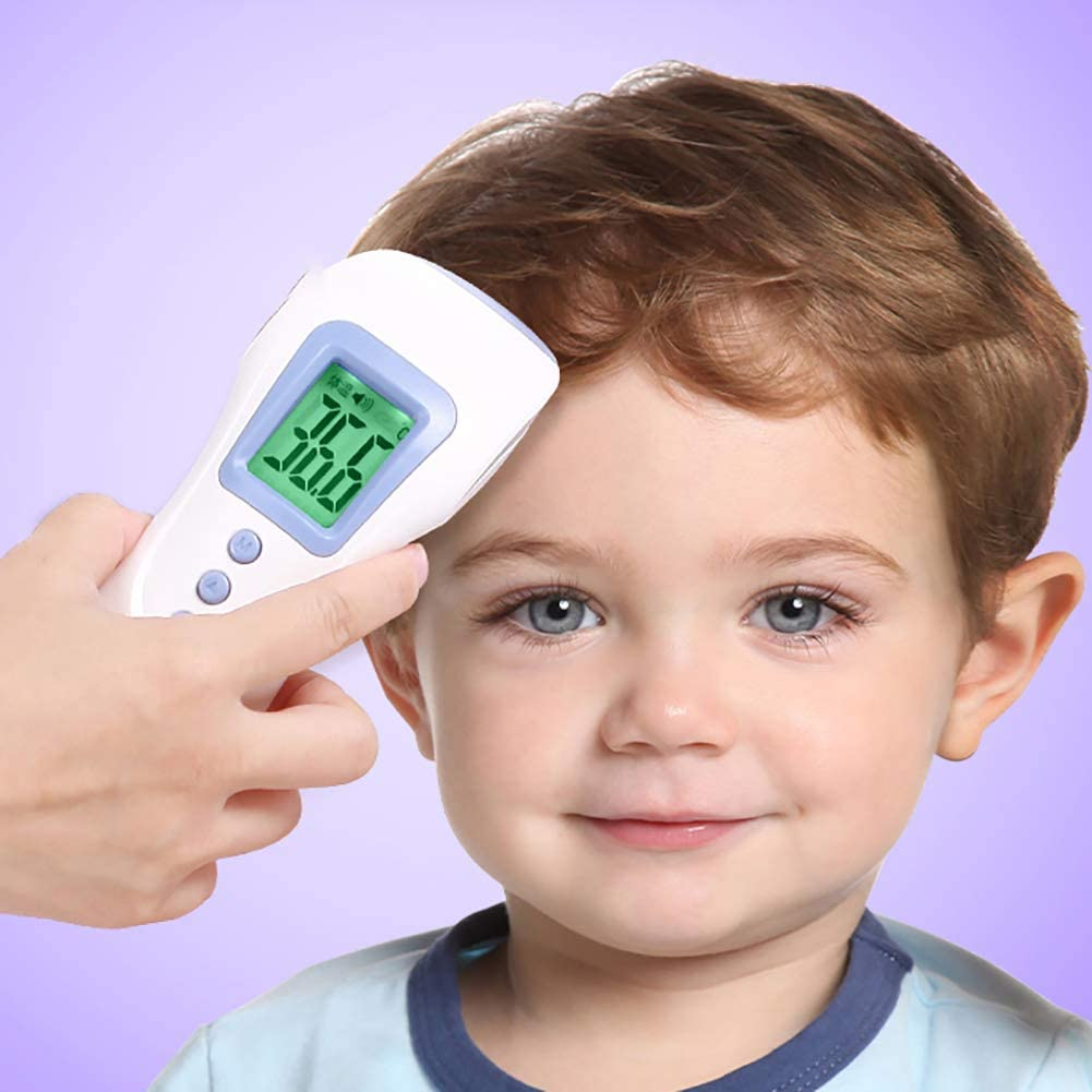 3 in 1 Digital Medical Infrared Thermometer for Baby and Adults /æ/—/ Human Body Temperature Gun Thermometer Thermometer Baby Forehead Thermometer with Fever Alert Function