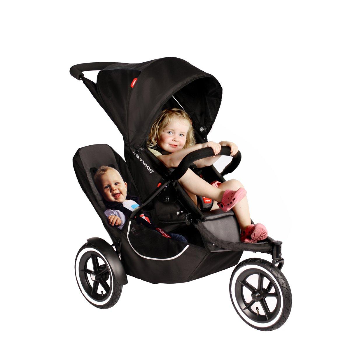 Amazon.com: Phil & Teds Classic carriola con doble kit: Baby
