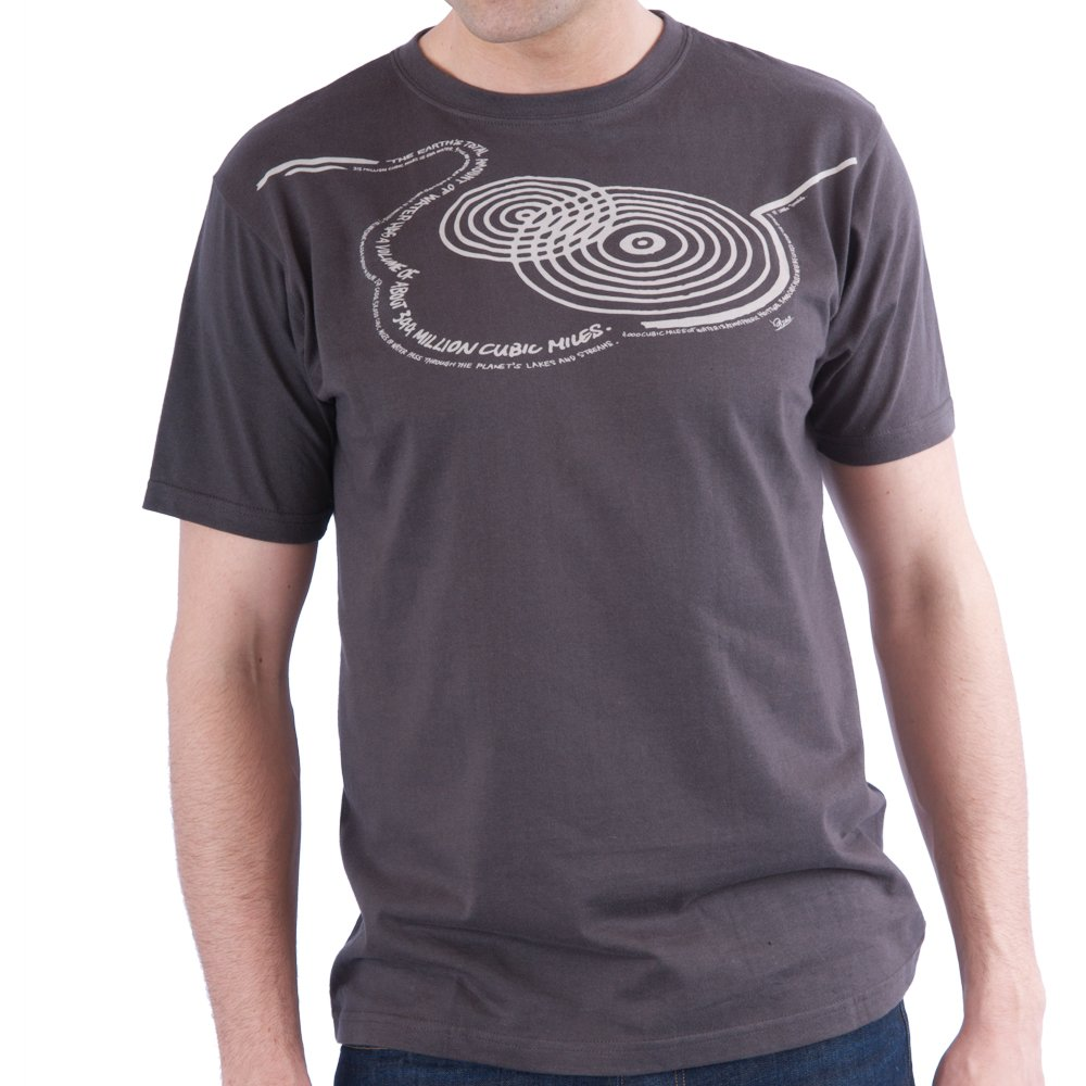 a8ec3f73d LOOPTWORKS Men's Spin Garden Graphic Tee, Gray, XX-Large: Amazon.in:  Clothing & Accessories