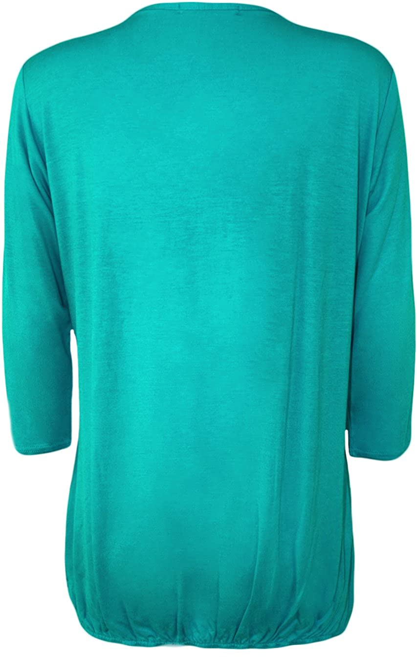 24//26 16//18 20//22 WearAll New Ladies Lace Round Neck Evening Top Womens Pleated 3//4 Sleeve Plus Size 12//14