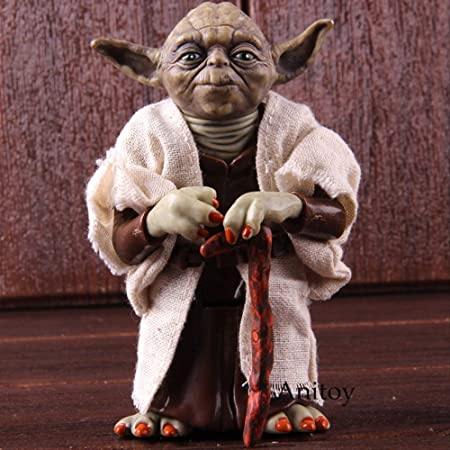 Star Wars Master Yoda Jedi Knight PVC Action Figure Collectible Model Toy Doll