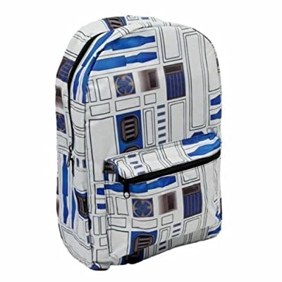 Star Wars R2D2 Character Sublimated Backpack 50%OFF